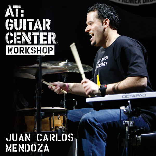 Drummer Juan Carlos Mendoza