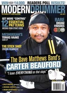 Carter Beauford Drummer | Modern Drummer Archive