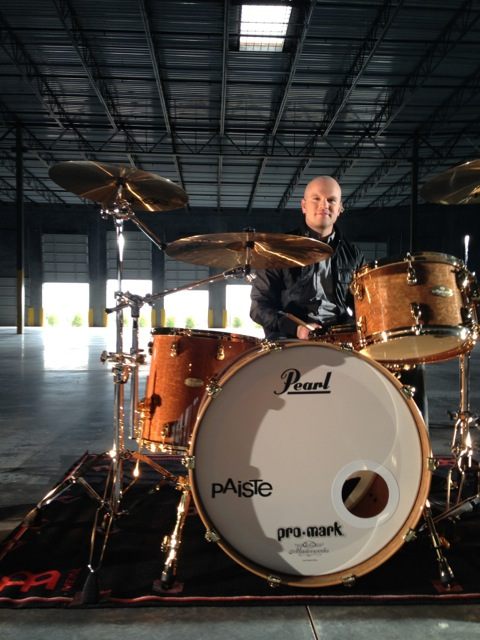 Drummer Justin Benner of Hawk Nelson Blog