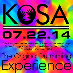 KoSA Percussion Workshops