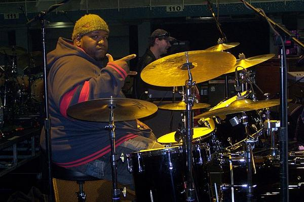 "Kenneth ""Big Eazy"" Walker of the Lee Boys Drummer Blog"