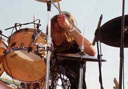 Drummer Kevin Franks of Silvertide