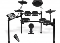 Alesis' new DM10 X Mesh Kit and DM10 Studio Mesh Kit feature the new Alesis FMH dual-zone mesh drumheads (patent-pending), which are said to deliver an unprecedented degree of feel and natural rebound....
