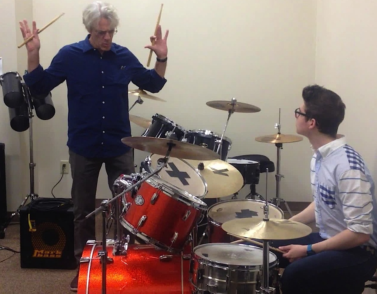 Tim Kane<br /> The Lesson of a Lifetime: Inside a Live Tutorial with Famed Drummer/Composer Stewart Copeland (VIDEO)