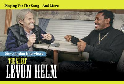 Steve Jordan interviews Levon Helm