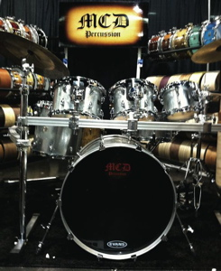 MCD Percussion Modern Drummer