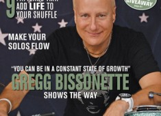 See what's in the pages of the December 2014 issue of <em>Modern Drummer</em> magazine featuring Gregg Bissonette!