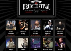 The tenth-anniversary Meinl Drum Festival will take place June 27, 2015, in Gutenstetten, Germany, and will feature a lineup of world-renowned drummers....