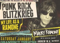 Drummers Kenny Aronoff and Rock and Roll Hall of Fame inductee/Grammy-Award winner Marky Ramone have donated special personal packages to raise money and awareness for the Rock Against MS Foundation....