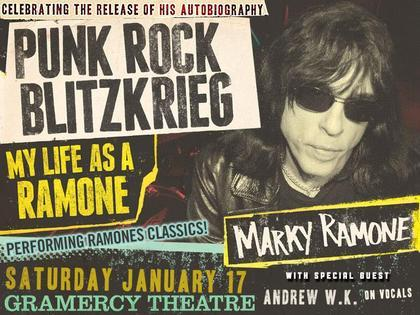 Marky Ramone package