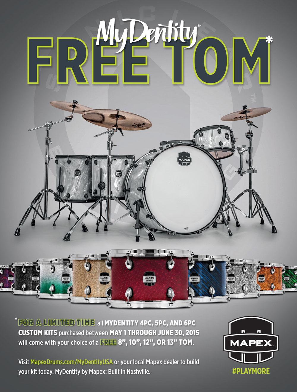 Mapex MyDentity Free Tom Event