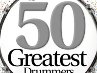 <b>March 2014 Issue of Modern Drummer Featuring the 50 Greatest Drummers of All Time</b>