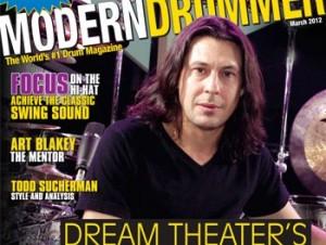 Mike Mangini Drummer   Modern Drummer Archive