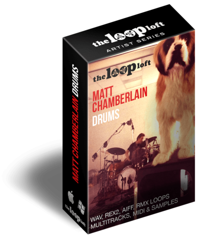 Check out the Loop Loft's Matt Chamberlain Drums, a Collection of Loops, Multi-tracks, Samples, and MIDI by the famed session drummer.