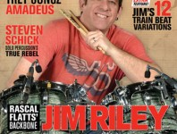May 2014 Issue of Modern Drummer Featuring Jim Ril...