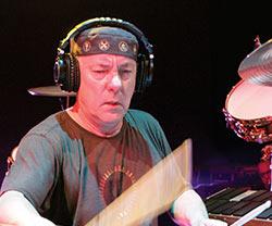 Modern Drummer Readers Poll Winner Neil Peart