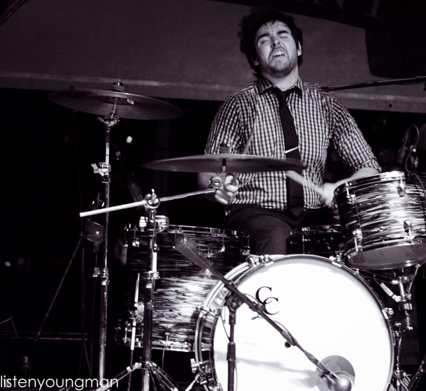 Drummer Nick Zamora of the Suffers