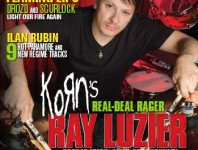 <b>November 2013 Issue of Modern Drummer Featuring Ray Luzier</b>
