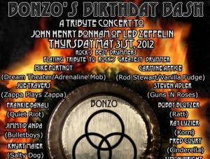 Bonzo's Birthday Bash Scheduled for May 31 at the House of Blues in L.A.