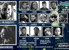 Shed Sessions will be holding an event at the Hotel Courtyard at New York's LaGuardia Airport this coming June 19, featuring drum clinics with Calvin Rodgers, Jamal Moore, and more....