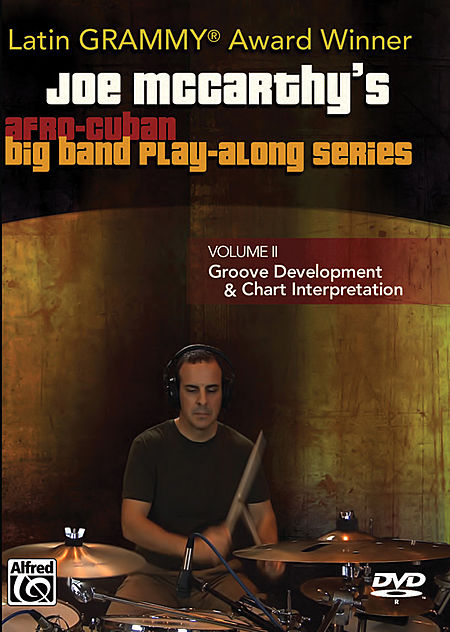 Joe Mccarthy's Afro-Cuban Big Band Play-Along Series, Volume II