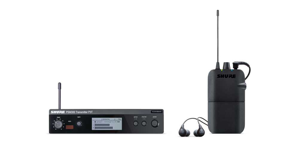 Showroom: Shure PSM 300 Stereo Personal Monitor Systems