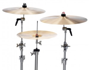 PinchClip Replaces Wingnuts on Cymbal Stands and Hi-Hats