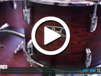Pearl Drums at NAMM 2015 (VIDEO)