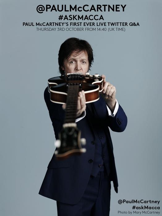 Paul McCartney Twitter Event