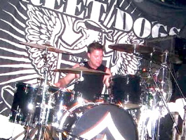 Drummer Paul Rucker of Street Dogs