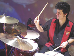 Tony Pia with The Brian Setzer Orchestra