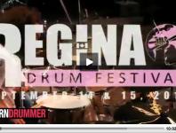 <b>Scott Pellegrom at the 2012 Regina Drum Festival</b>