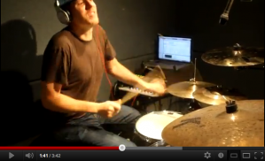 "Zach Danziger Plays ""Stix Beiderbecke Versus Deadmau5"" Video"