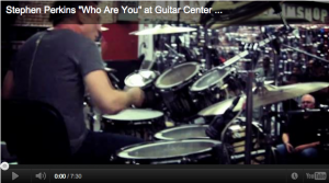 Stephen Perkins Video