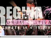 Jayson Brinkworth at the 2012 Regina Drum Festival