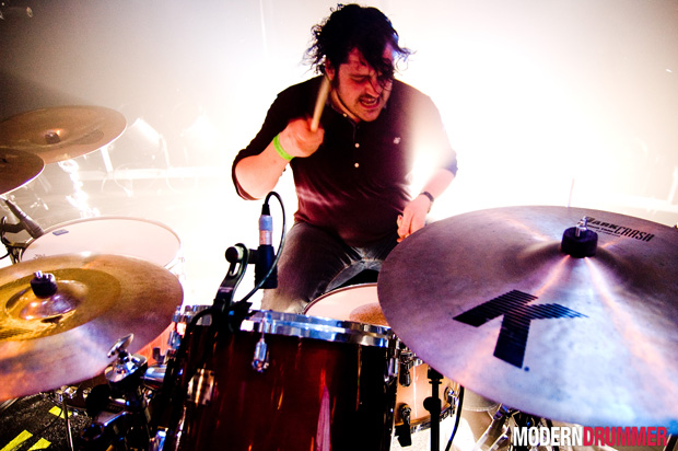 Piers Hewitt of the Boxer Rebellion Drummer Blog