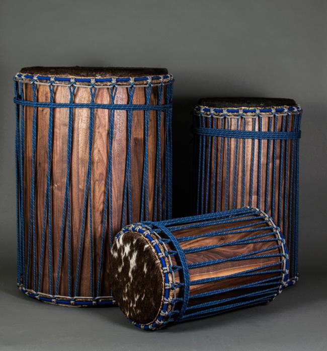 Rhythm House Drums Dunun Blue