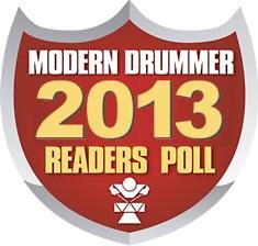 Modern Drummer Readers Poll 2013