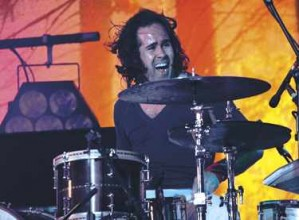 Drummer Ronnie Vannucci of the Killers