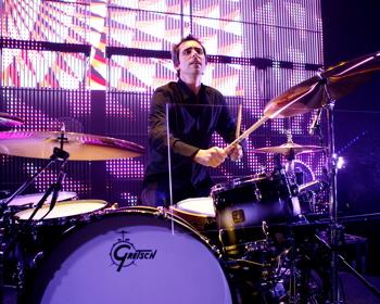 Drummer Ryan MacMillan of Matchbox Twenty