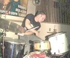 drummer Ryan Brundage of Experimental Dental School