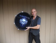 "Showroom: ""Select a Head"" Licensed Drumhead Displays"