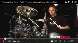 Playing With a Band <br />Part 2: Tracking a Song Without a Strong Click (with Video)