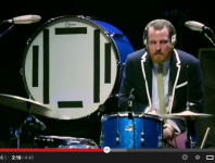 Darren King of Mutemath at Guitar Center's 2012 Drum-Off Grand Fi...