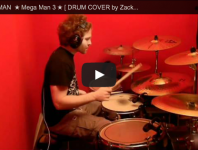 "Zack B.'s Drum Cover of ""The Hard Man Theme"" from Mega Man ..."