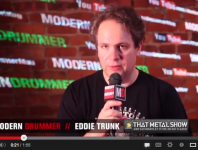 <b>Radio and TV Personality Eddie Trunk Checks In With Modern Drummer Online</b>