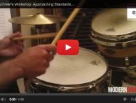 <b>Jazz Drummer's Workshop: Approaching Standards, Part 1 (September 2013 issue)</b>
