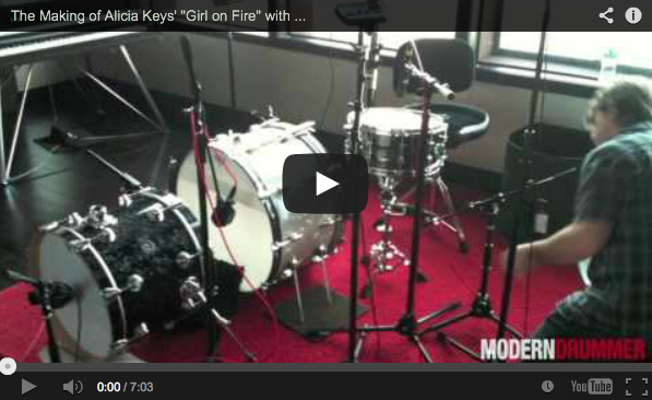 "The Making of Alicia Keys' ""Girl on Fire"" with Indie Studio Drummer Dylan Wissing"