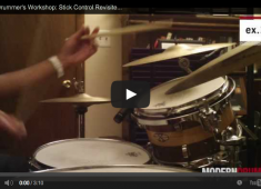 Click here to check out part 3 of our Jazz Drummer's Workshop series, Stick Control Revisited.