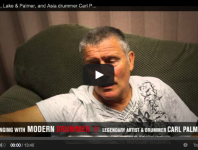 <b>Emerson, Lake &amp; Palmer, and Asia Drummer Carl Palmer Video Interview </b>